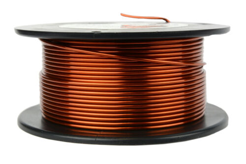 TEMCo Magnet Wire 14 AWG Gauge Enameled Copper 8oz 40ft 200C Coil Winding