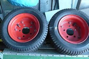 2x 8inch hd. rims with tires Craigmore Playford Area Preview