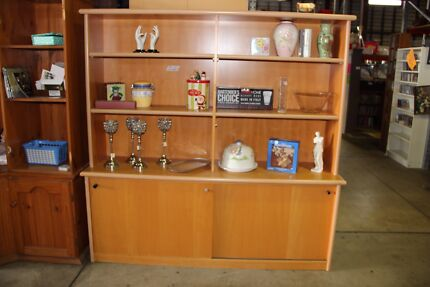 Wooden wall unit   Cabinets   Gumtree Australia Brisbane North East ...