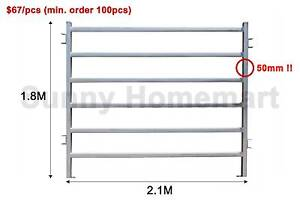 1.8Mx2.1M Cattle Horse Yard Panel Heavy Duty 2.5mm or 1.6mm Thick Derrimut Brimbank Area Preview