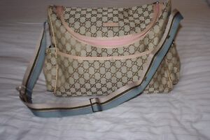 GUCCI monogram  messenger /  baby bag