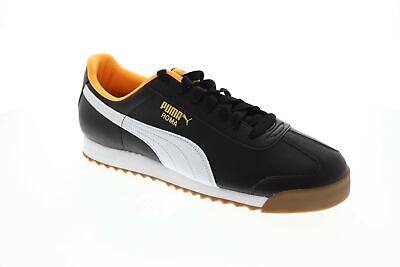 Puma Roma Basic 35357297 Mens Black Classic Low Top Sneakers Shoes