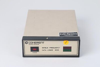 Coherent Tropel 200 Single Frequency Hene Laser