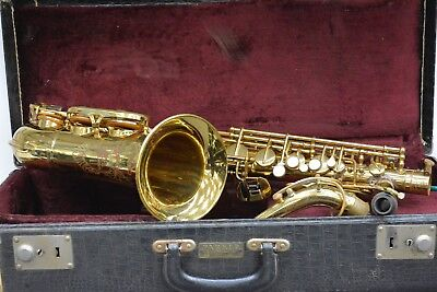 Brass Alto Horns Beautiful Bundy Special Ha Selmer Tenor Saxophone Keilwerth Germany Vintage Sax Sales Of Quality Assurance