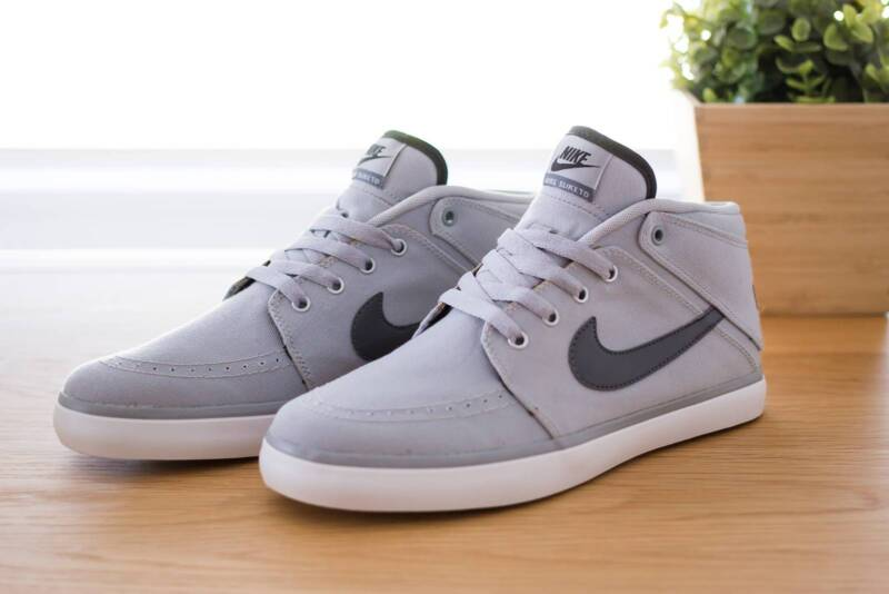 new product 806df 3a54e ... spain nike suketo 2 mid shoes sneaker mens grey canvas size 8 mens  shoes gumtree australia