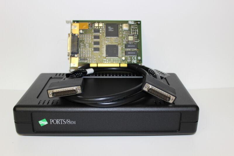 DIGI 70001208  UPCI Card 8EM DB25 8 Port Concentrator Kit with Warranty