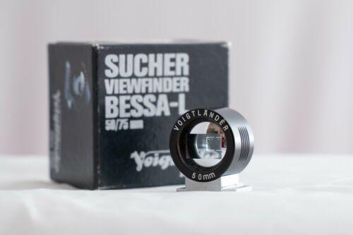Voigtlander Brightline 50mm Viewfinder - Black FREE SHIPPING