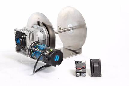 550W, 1000W, & 1500W Savwinch Run Out Anchor Winches
