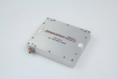 Innovative Power Products Rf Dual Directional Coupler.ipp-2234 80-1000mhz 250w