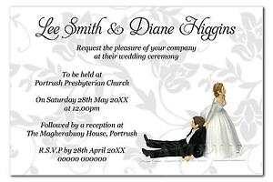 Invitation Sample With Rsvp. Personalised Wedding Invitations Sample  Supplies eBay