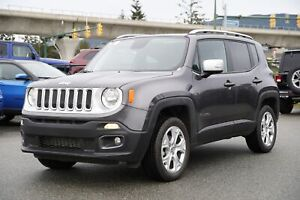 2018 Jeep Renegade Limited - ALLOY WHEELS, NAVI, LEATHER, PUSH S