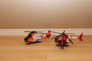 Helicopters Tonka $8 pour les 2