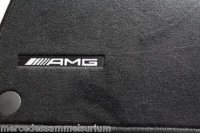 Mercedes Benz AMG Original OEM Fußmatten S Klasse Lang V221 LHD Schwarz Neu OVP