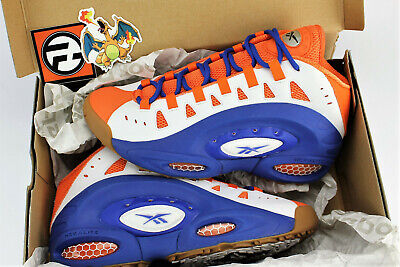 Reebok Emmitt Smith ES22 Florida Gators Royal Blue Orange Size 10 V45036 - Royal Blue Gator