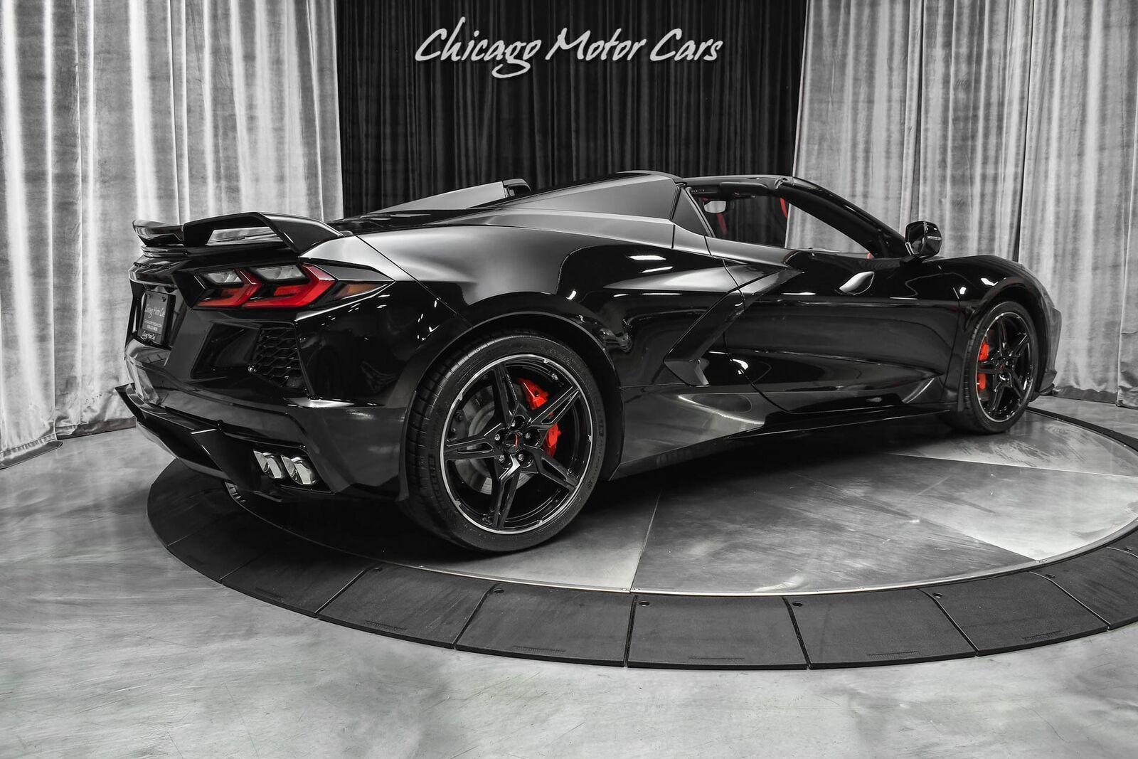 2021 Black Chevrolet Corvette Convertible Z51   C7 Corvette Photo 5