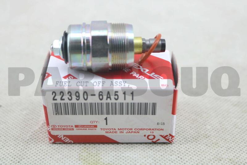 223906a511 Genuine Toyota Solenoid Assy, Fuel Cut 22390-6a511