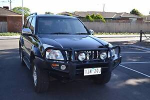TOYOTA LAND CRUISER PRADO 4X4 8 SEATER AUTOMATIC Cranbourne West Casey Area Preview