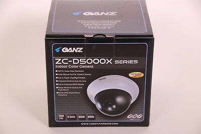 Ganz ZC-D5000X Series ZC-DWN5212NXA 2.8-12mm 700TVL WDR Indoor Security Camera