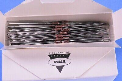 100 Vishay Dale 1 4.750 Kilohm Mil-spec Rn55d4751f Resistors