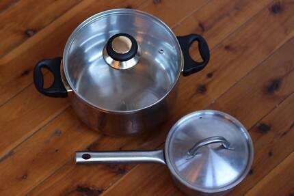 Set of 2 Saucepans - Good Quality