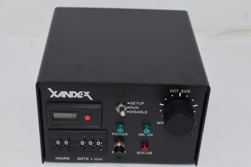 NEW Xandex Model 350-0002 Pneumatic Die Marker/Inker 30W Controller Standard