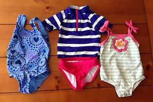 Size 12 months bathing suits