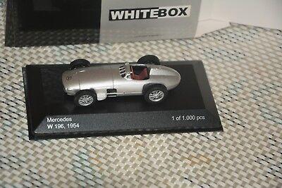 gen  (W196) 1/43 White Box silber (White Rennwagen)