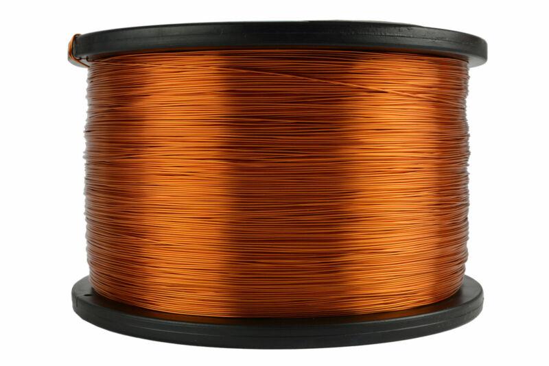 TEMCo Magnet Wire 24 AWG Gauge Enameled Copper 200C 5lb 3952ft Coil Winding