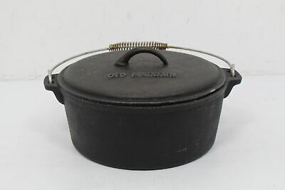 Vintage Old Mountain Cast Iron Dutch Oven