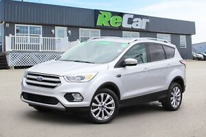 2017 Ford Escape Titanium 4X4 | HEATED LEATHER | NAV | BACK U...