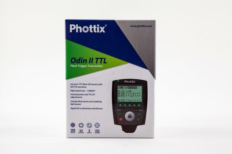 Phottix Odin II TTL Flash Trigger Transmitter for CANON ~ NEW IN BOX