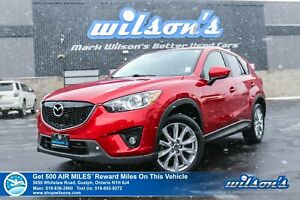 2014 Mazda CX-5 GT AWD - Leather, Sunroof, Navigation, Rear Came