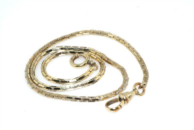 "Vintage Gold Filled Pocketwatch 13 1/2"" Watch Chain"