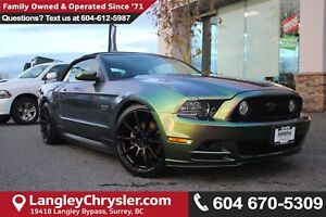 2014 Ford Mustang GT *LOCAL BC CONVERTIBLE* DEALER INSPECTED*