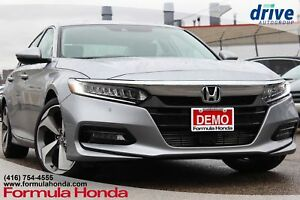 2018 Honda Accord Touring TOURING TOP OF LINE DEMO!