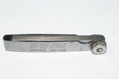 K-d Tools 162 Feeler Gauge