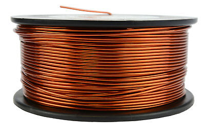 Temco Magnet Wire 16 Awg Gauge Enameled Copper 1.5lb 188ft 200c Coil Winding