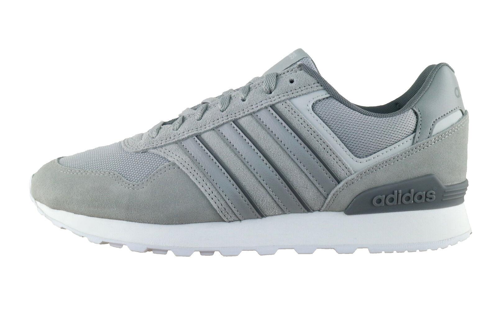 adidas Core Herren Freizeitschuh Sneaker 10K grau | real