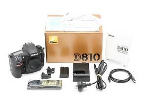 Nikon D810 36.3mp Full Frame Body
