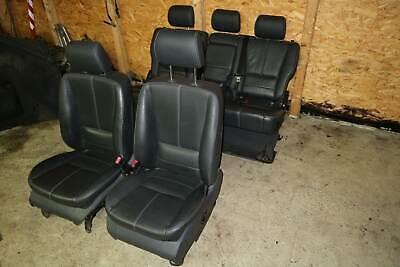Mercedes ML W163 Sitze Ledersitze Leder elektrisch schwarz Inspiration
