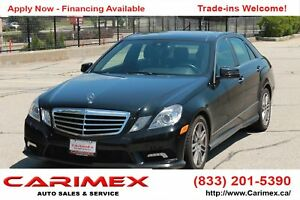 2010 Mercedes-Benz E-Class AWD | Leather | Sunroof | CERTIFIED