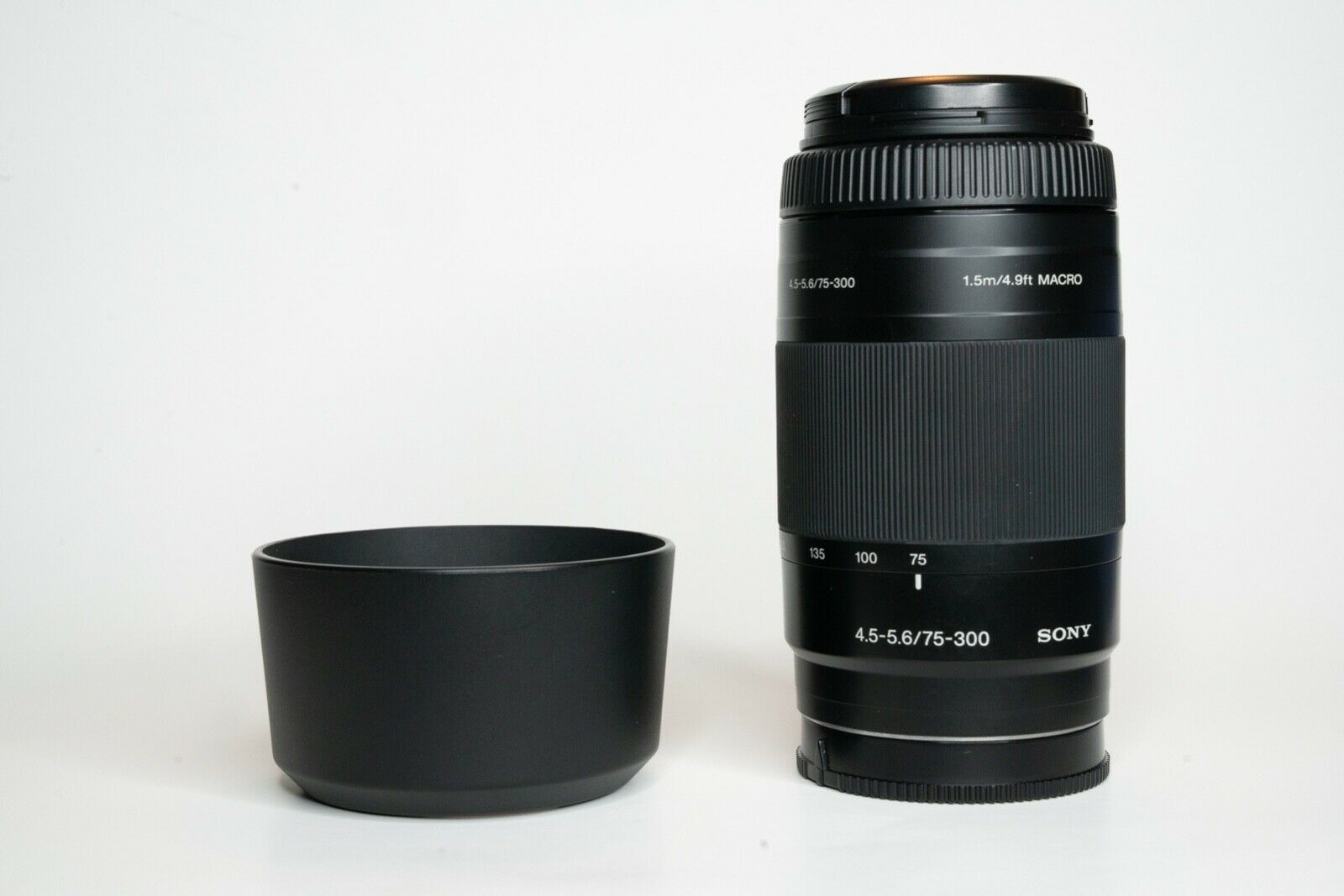 Sony 75-300mm F/4.5-5.6 DSLR Alpha A-Mount Telephoto Zoom/Macro Lens SAL75300 - $35.00