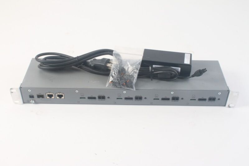 Axis P7216 16-Channel Video Encoder 0542-001-03 - W/ Power Supply and Connectors