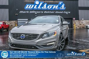 2015 Volvo V60 T6 | AWD | LEATHER | SUNROOF | CRUISE CONTROL | P
