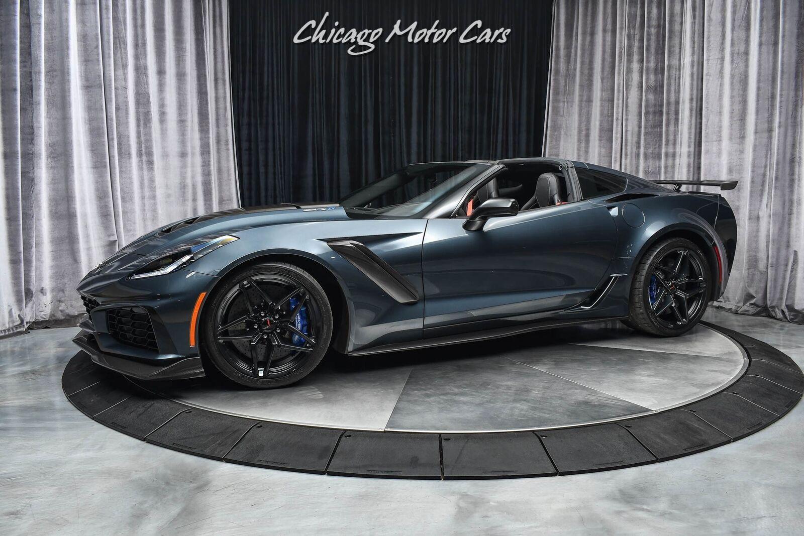 2019 Gray Chevrolet Corvette ZR1  | C7 Corvette Photo 1