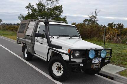 1997 Toyota LandCruiser Ute 1HDT-T 4.2Lt Factory Turbo Diesel 4x4 Lyndhurst Greater Dandenong Preview