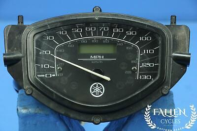 #2832 - 07 Yamaha V-Star XVS 1300 Speedometer Speedo Gauge Meter *32,979 mi.