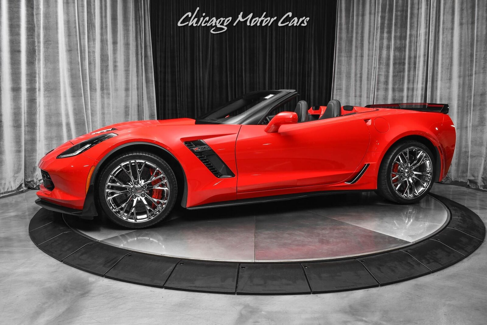 2015 Red Chevrolet Corvette Z06 2LZ | C7 Corvette Photo 1