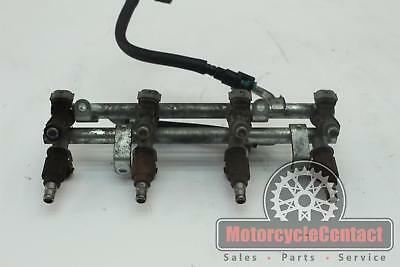 06 07 SUZUKI GSXR 600/750 FUEL INJECTORS RAIL LINES MAIN INJECTOR
