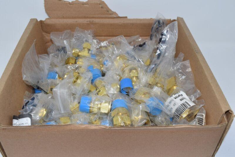 HUGE Lot of Brass Stainless Fittings, SSP, Cajon Parker Threaded Tee Plug 21lbs.